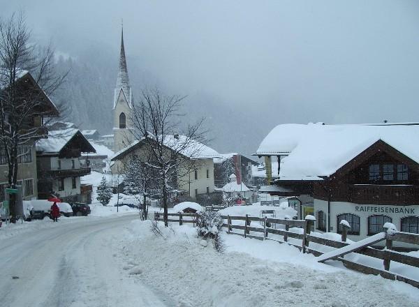 Een impressie van een winterse dag in Finkenberg