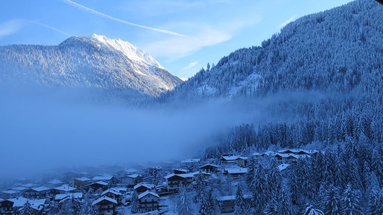 Finkenberg - Wintersport dorp bij Mayrhofen